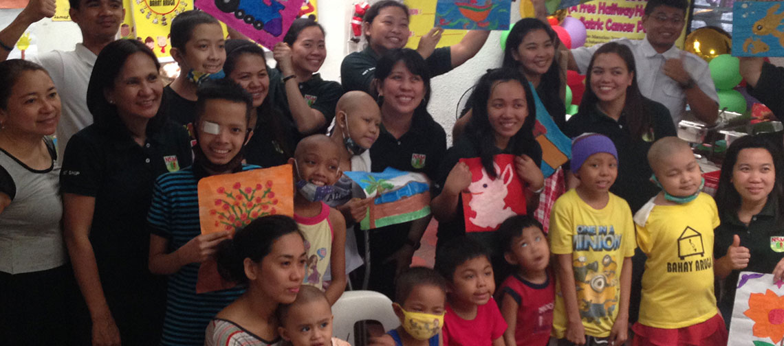 """Share A Gift Outreach"" - Home for Pediatric Cancer Patients (Dec 2015)"