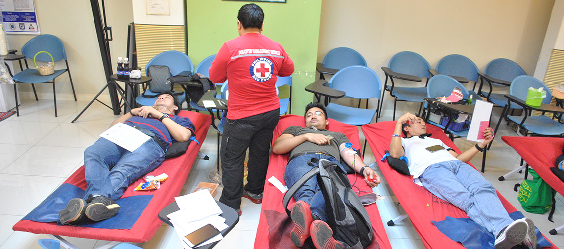 Red Cross Blood Donation Activity (January 2017)