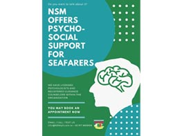 NSM Offers Psycho-Social Support for Seafarers